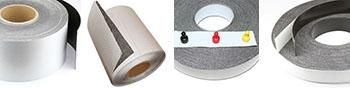Ferroband Metallband weiß glänzend