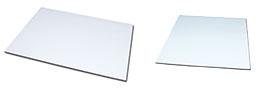 Ferrofolie Metallfolie weiß laminiert