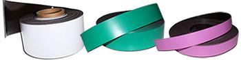 isotropes Magnetband farblich beschichtet