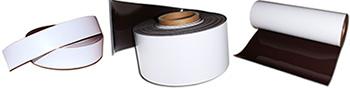 anisotropes Magnetband weiss PET beschichtet