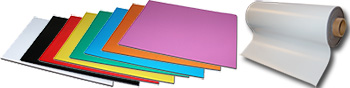 isotrope farbliche Magnetfolie