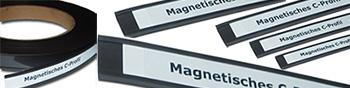 Magnetisches C-Profil Etikettenhalten