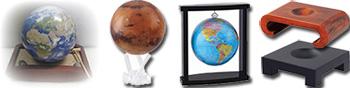 Selbstdrehender Globus