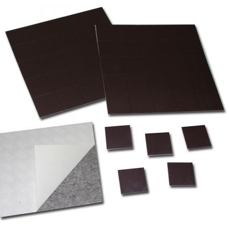 magnetpl ttchen takkis selbstklebend 20x20x0 9 mm klebepunkte magnetisch. Black Bedroom Furniture Sets. Home Design Ideas