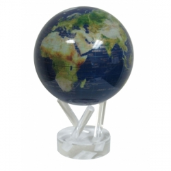 MOVA Globe Magic Floater Satellite View Gold Lettering...