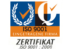 DIN ISO 9001:2008 Certificate