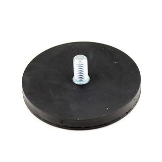rund weiß gu Gummierte Magnete Flachgreifer Topfmagnet Neodym mit Innengewinde