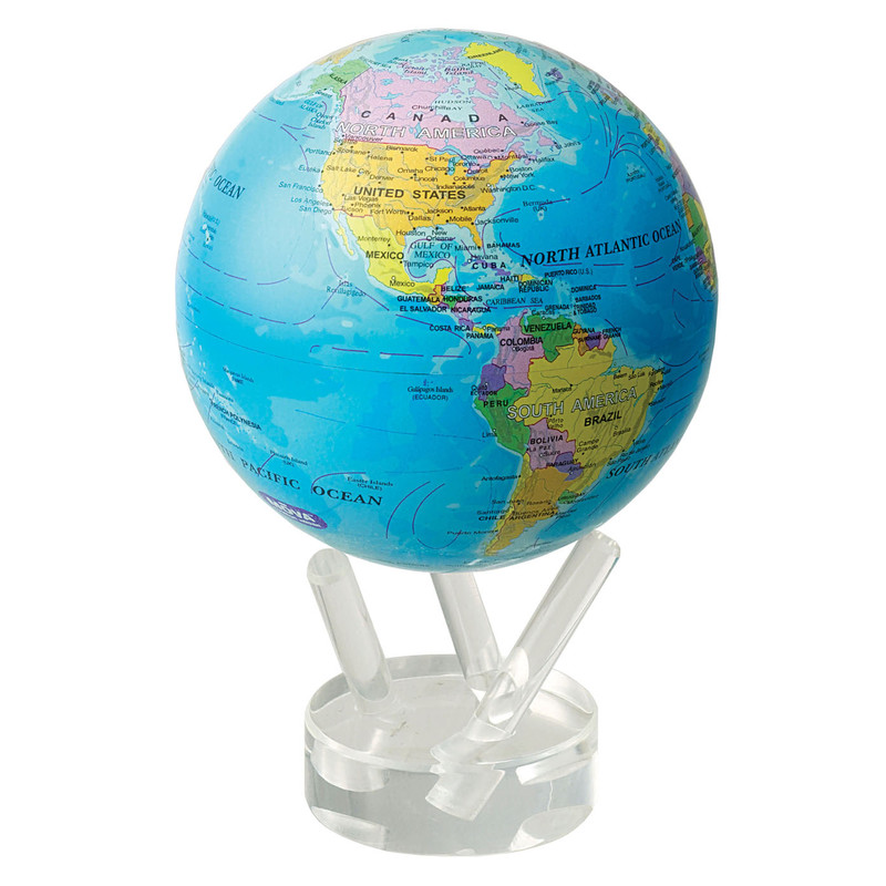 MOVA Globe Magic Floater Politisches Kartenbild -...