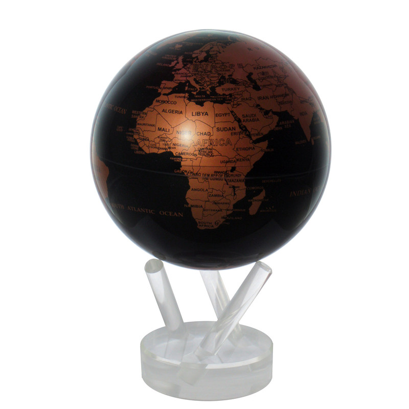 MOVA Globe Magic Floater Kupfer Schwarz -...