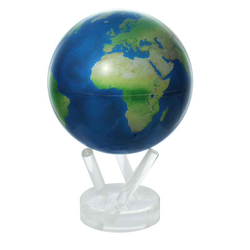 MOVA Globe Magic Floater Satellite View Natural Earth silently rotating Globe