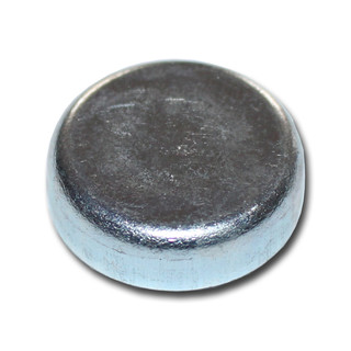Ferrite flat pot magnets Ø 25 x 7 mm, Zinc - 4 kg / 40 N