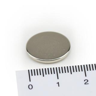 50 Neodym Magnete Ø10x2 mm Supermagneten Minimagnete