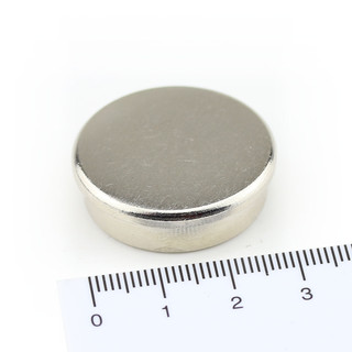 Memo magnet with steel case Ø 30 x 9 mm Neodymium