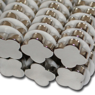 magnete in blumen form f r haushalt und b ro starke neodym magnete. Black Bedroom Furniture Sets. Home Design Ideas