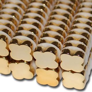 goldene magnete in blumen form f r haushalt und b ro starke neodym magnete. Black Bedroom Furniture Sets. Home Design Ideas