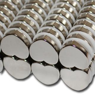 magnete in herz form f r haushalt und b ro starke neodym magnete. Black Bedroom Furniture Sets. Home Design Ideas