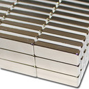 Neodymium Magnets 30x10x5 NdFeB N45 - pull force 8,2 kg