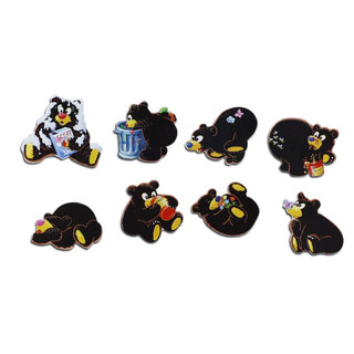 Pinboard Magnets Little Bears Set with 8 pcs.