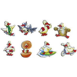 Pinboard Magnets Ducks Set with 8 pcs.