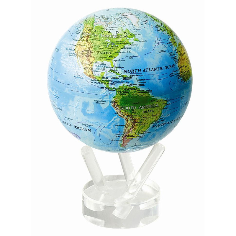 Mova globe magic floater relief kartenbild geruschlos mova globe magic floater reflief map silently rotating globe gumiabroncs Image collections