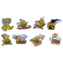 Pinboard Magnets Marmots Set with 8 pcs.