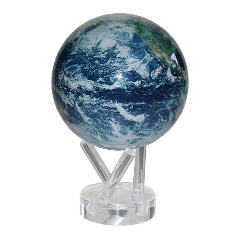 MOVA Globe Magic Satellitensicht mit Wolken -...