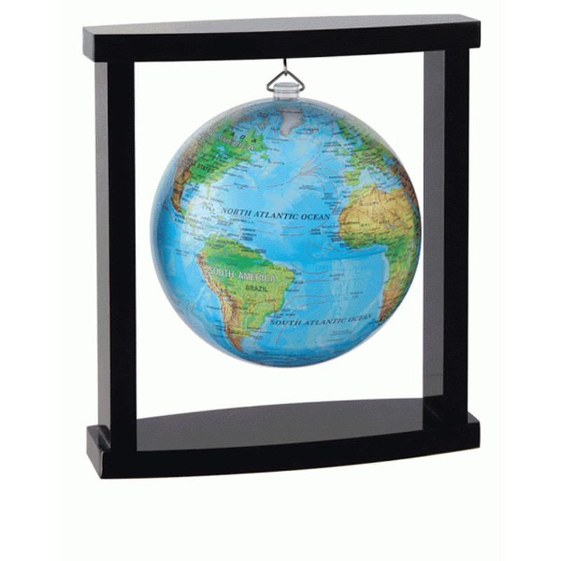 MOVA Globe Magic Floater Relief Map silently rotating hanging Globe