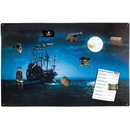 Magnetic pinboard Ghost Ship 60x40 cm incl. 8 magnets