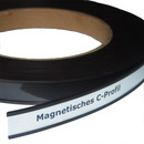 Magnetic C-Profiles 10 mm x rm. / Label holders Set