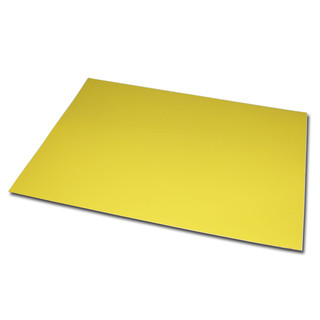 Magnetic foil Din A4 210 x 297 x 0,85 mm yellow