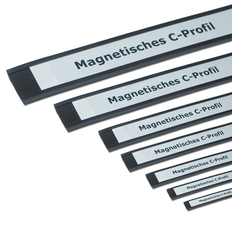 Magnetic C-Profiles 50 mm x rm. / Label holders Set