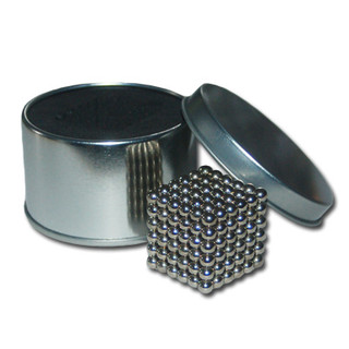 Set with 216 Neodymium magnetic spheres - Nickel
