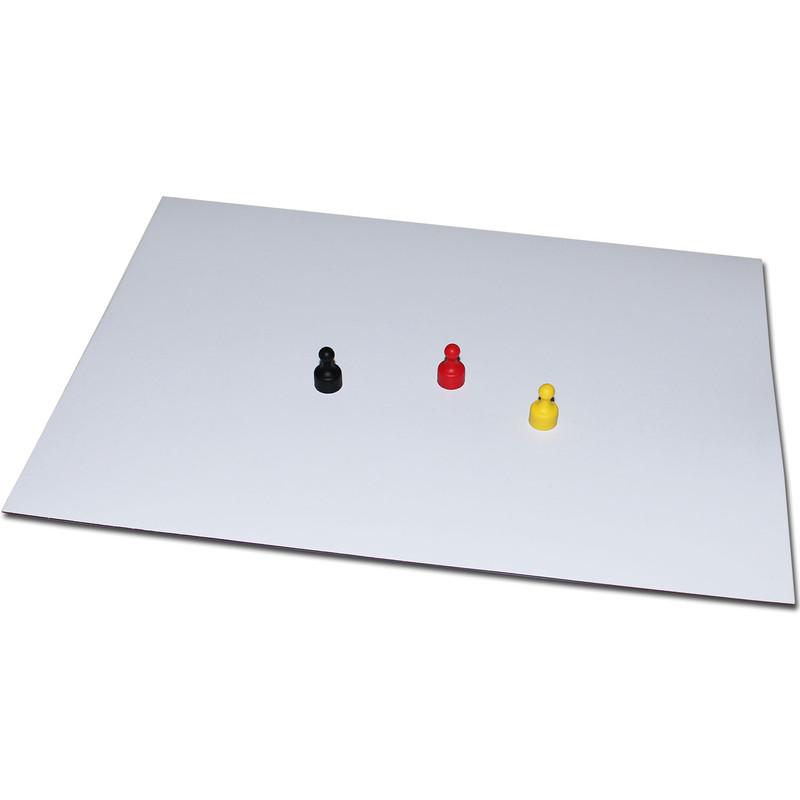 haftgrund haftuntergrund magnete eisenfolie ferrofolie beschreibbar abwischbar wei din a4 0 8. Black Bedroom Furniture Sets. Home Design Ideas