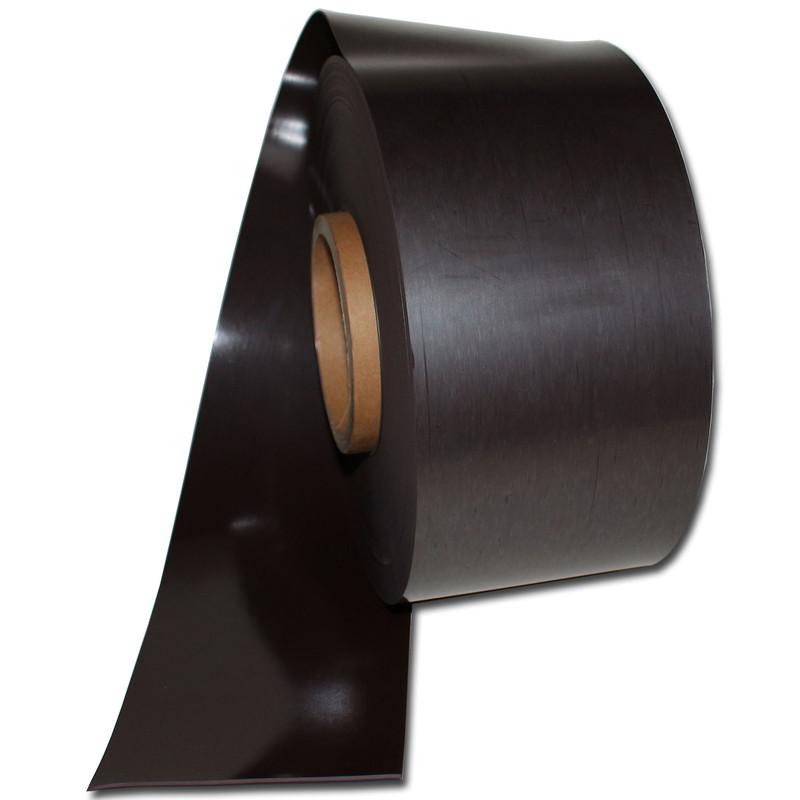0,9mm x 100mm x 100mm Magnetfolien roh selbstklebend 4 Stück Magnetfolie