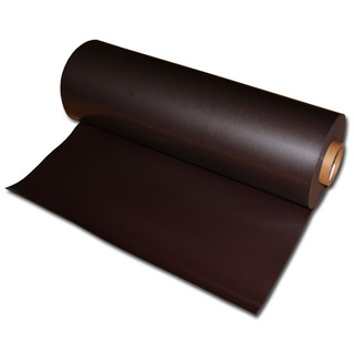 Magnetic foil Anisotropic 620mm x 0,9mm x rm. Plain Brown...