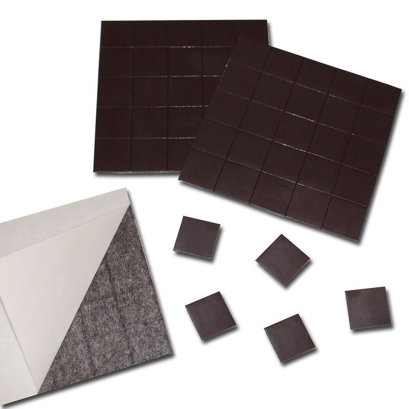 100 Takkis Magnetplättchen selbstklebend Ø 15mm x 0,9mm