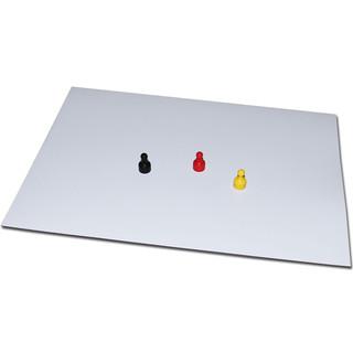 Eisenfolie Ferrofolie Weiß Matt selbstklebend 620mm x Meterware