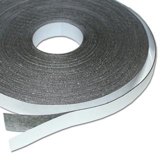 10 Meter x 18mm x 0,6mm Weiß Matt Magnetband Magneth Ferroband selbstklebend