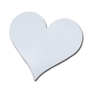 Magnetic sticker heart magnets writeable 75 mm x 70 mm,...