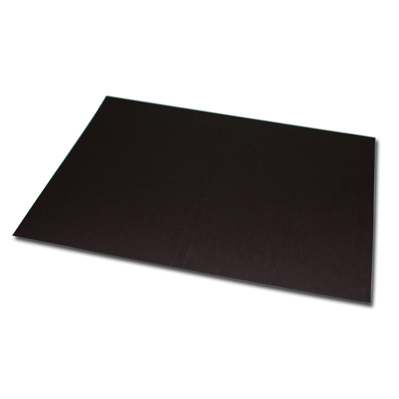 Magnetic foil Anisotropic 200x200 mm Plain Brown uncoated