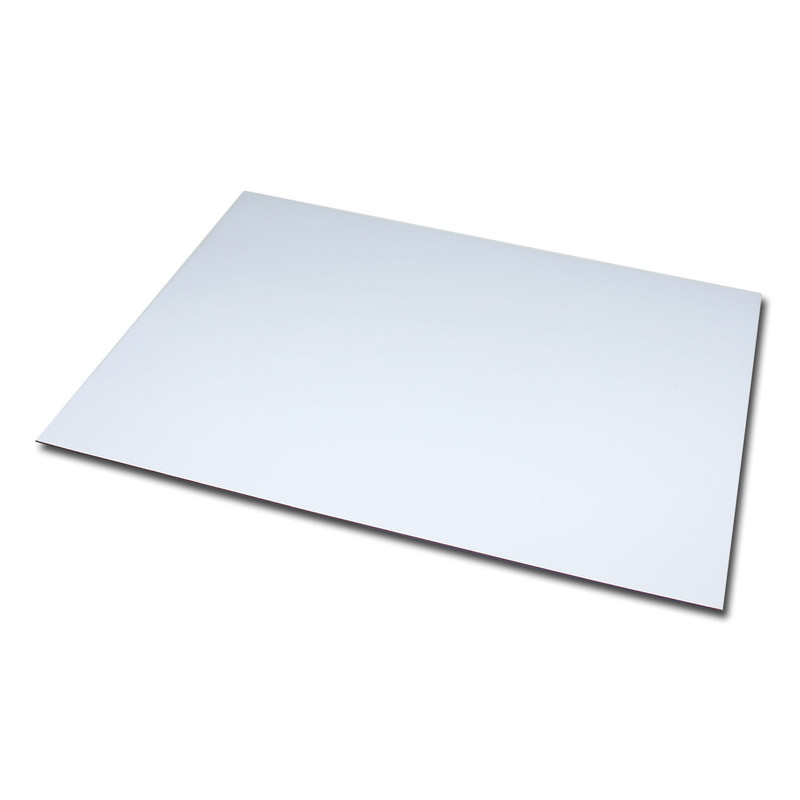 Magnetic foil Anisotropic DIN A4 210x297x0,4 mm White glossy writeable