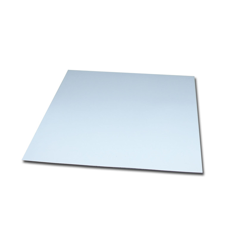 Magnetic foil Anisotropic 120x120 mm White Glossy wipeable