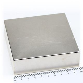 Neodymium Magnets 100x100x30 NdFeB N45 - pull force 460 kg