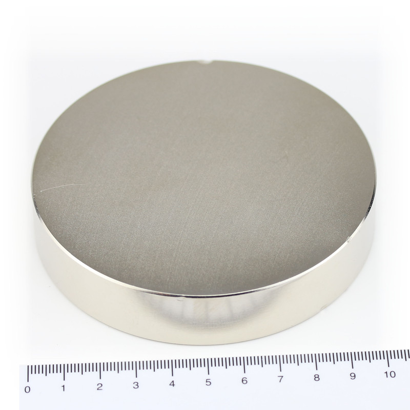 Neodymium Magnets Ø100x20 NdFeB N45 - pull force 320 kg