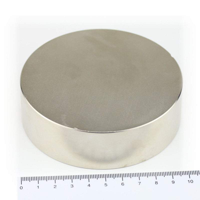 Neodymium Magnets Ø100x30 NdFeB N45 - pull force...