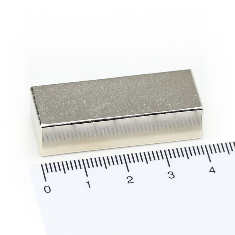 Neodymium Magnets 40x15x10 NdFeB N45 - pull force 22 kg