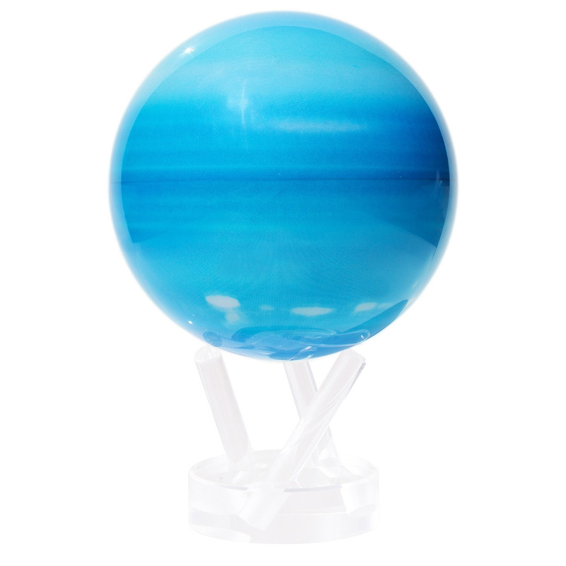 MOVA Globe Magic Floater Planet Uranus silently rotating Globe