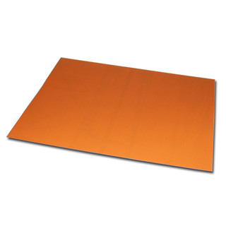 Magnetic foil Din A4 210 x 297 x 0,85 mm orange