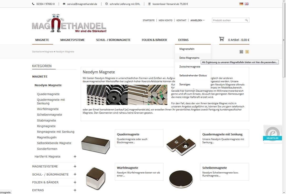 Magnet-Shop Magnethandel.de