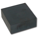 Hard ferrite block magnets